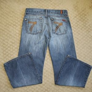 7 For All Mankind 'DOJO' Flare Jeans Sz. 29